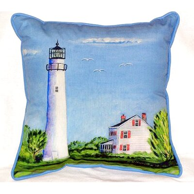 Fenwick Island Light House Indoor/Outdoor Lumbar Pillow