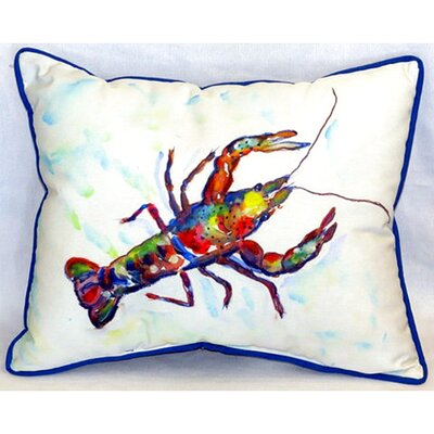 Crayfish 24 Indoor/Outdoor Lumbar Pillow