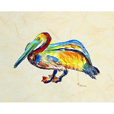 Gertrude Pelican Doormat Rug Size: 16 x 22