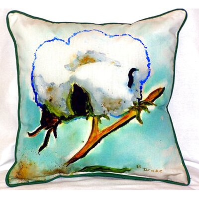 Cottonball Indoor/Outdoor Throw Pillow