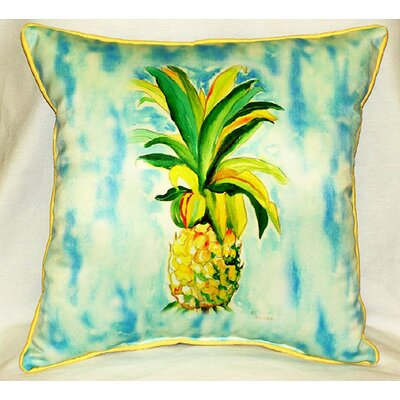 Garden Pineapple Indoor/Outdoor Throw Pillow
