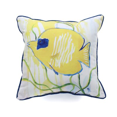 Coastal Tang Indoor/Outdoor Throw Pillow