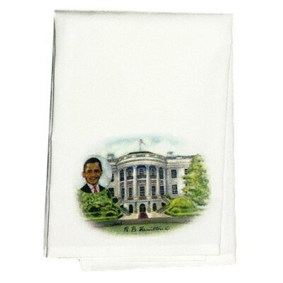 Garden Obamas House Hand Towel (Set of 2)