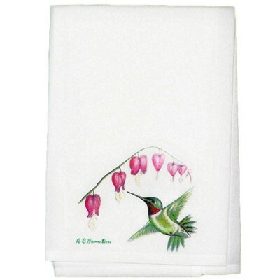 Garden Hummingbird Hand Towel (Set of 2)