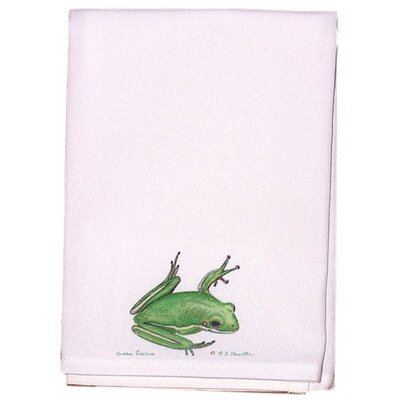 Garden Tree Frog Hand Towel (Set of 2)