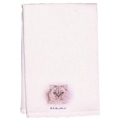 Garden Barn and Geranium Hand Towel (Set of 2)