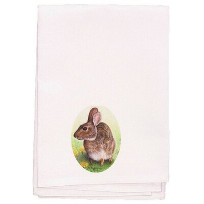 Garden Rabbit Hand Towel (Set of 2)