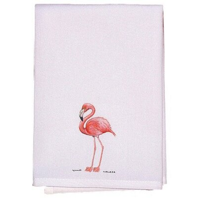 Coastal Flamingo Hand Towel (Set of 2)
