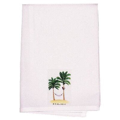 Coastal Monkey and Palm Hand Towel (Set of 2)
