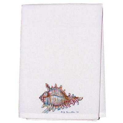 Coastal Conch Shell Hand Towel (Set of 2)