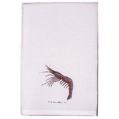 Coastal Shrimp Hand Towel (Set of 2)