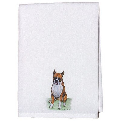 Pets Boxer Hand Towel (Set of 2)