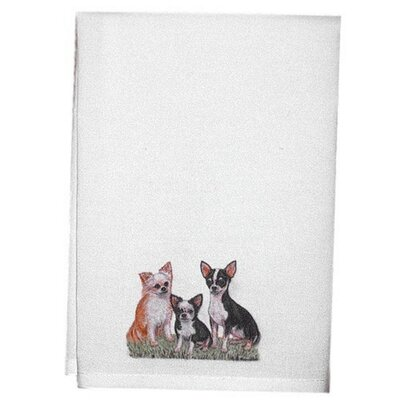Pets Chihuahua Hand Towel (Set of 2)