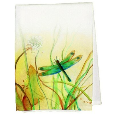 Garden Dragonfly Hand Towel (Set of 2)