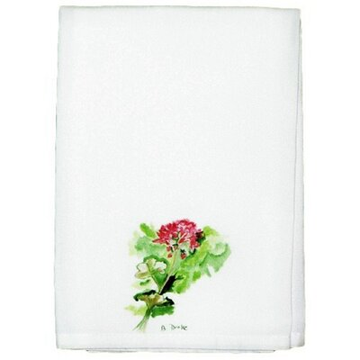 Garden Geranium Hand Towel (Set of 2)