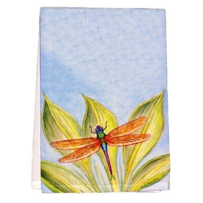 Dick's Dragonfly Hand Towel