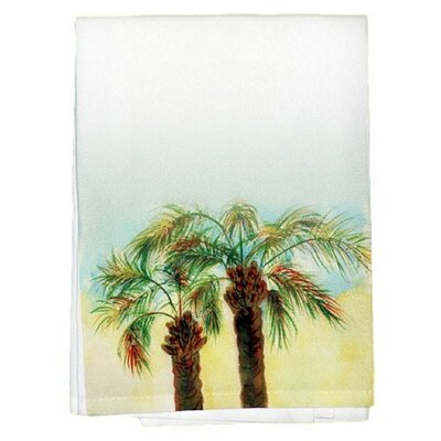 Coastal Palms Bath Towel (Set of 2)