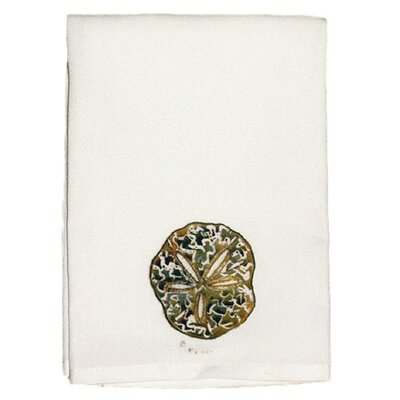 Coastal Sand Dollar Hand Towel (Set of 2)