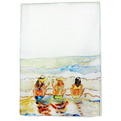 Coastal Bottoms Up Hand Towel (Set of 2)