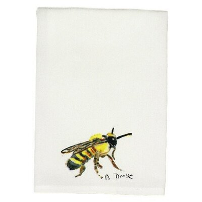 Garden Bee Hand Towel (Set of 2)