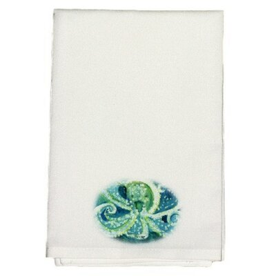 Coastal Octopus Hand Towel (Set of 2)