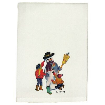 Holiday Snowman Hand Towel (Set of 2)