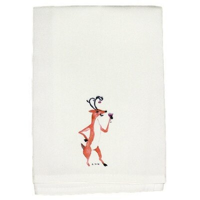 Holiday Drunk Deer Hand Towel (Set of 2)