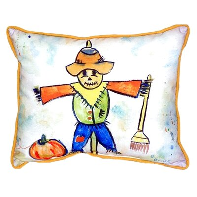 Scarecrow Indoor/Outdoor Lumbar Pillow