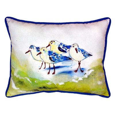 Sanderlings Indoor/Outdoor Lumbar Pillow