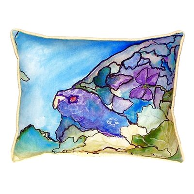 Turtle Indoor/Outdoor Lumbar Pillow