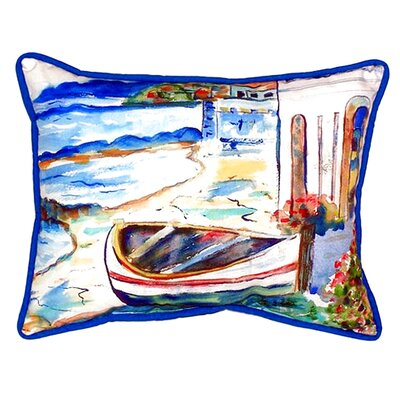 Sicilian Shore Indoor/Outdoor Lumbar Pillow