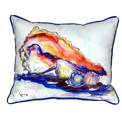 Conch 24 Indoor/Outdoor Lumbar Pillow