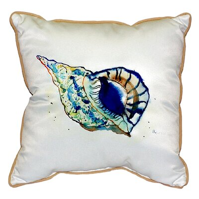 Shell Indoor/Outdoor Throw Pillow