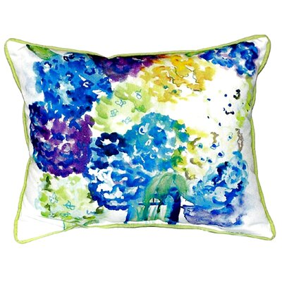 Hydrangea Indoor/Outdoor Lumbar Pillow Size: Small