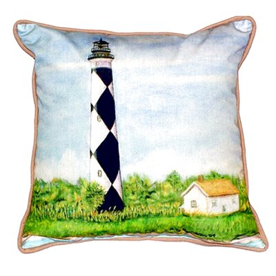 Cape Lookout Indoor/Outdoor Throw Pillow Size: Large