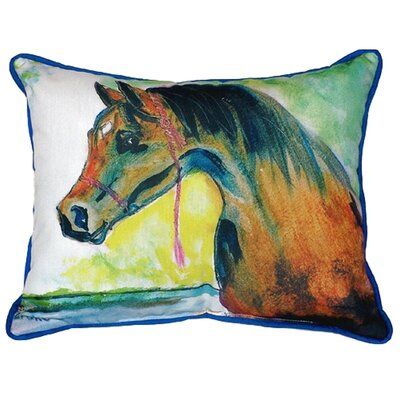Prize Horse Indoor/Outdoor Lumbar Pillow Size: Small
