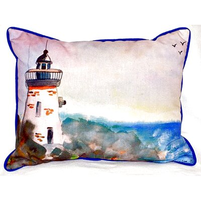 Light House Indoor/Outdoor Lumbar Pillow Size: Small