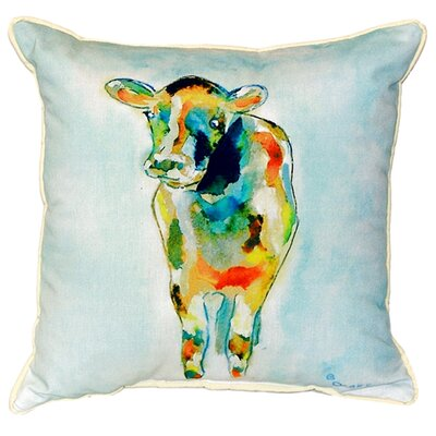 Cow Indoor/Outdoor Throw Pillow Size: Large