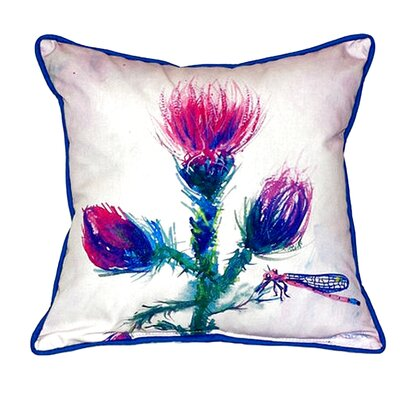Thistle Indoor/Outdoor Throw Pillow Size: Small