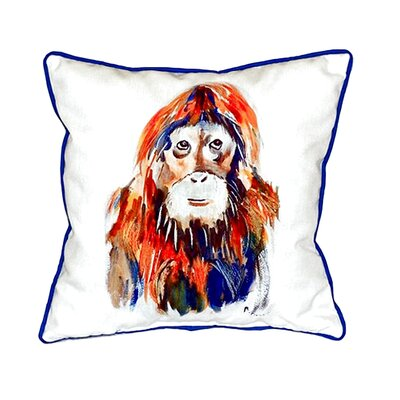 Orangutan Indoor/Outdoor Throw Pillow