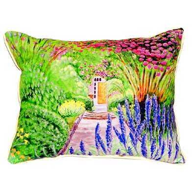 Garden Door Indoor/Outdoor Lumbar Pillow