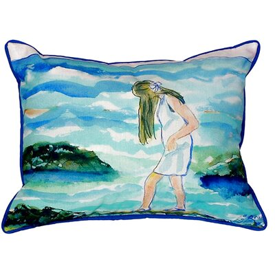 Mia on the Rocks Indoor/Outdoor Lumbar Pillow Size: Large