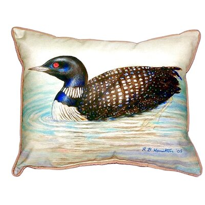 Loon Indoor/Outdoor Lumbar Pillow Size: Small