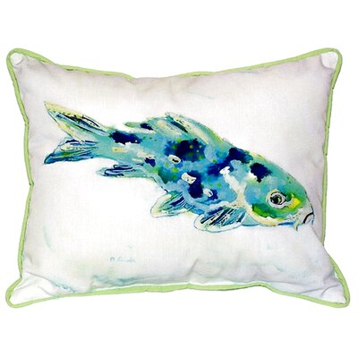 Koi Indoor/Outdoor Lumbar Pillow Size: Small