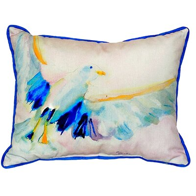 Flying Gull Indoor/Outdoor Lumbar Pillow Size: Large