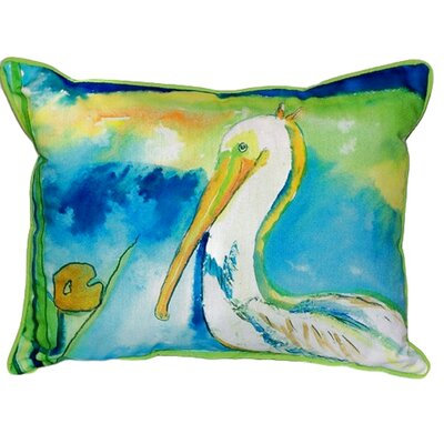 Pelican Indoor/Outdoor Lumbar Pillow Size: Small