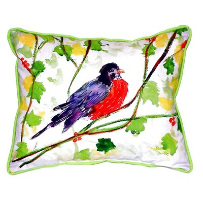 Robin Indoor/Outdoor Lumbar Pillow