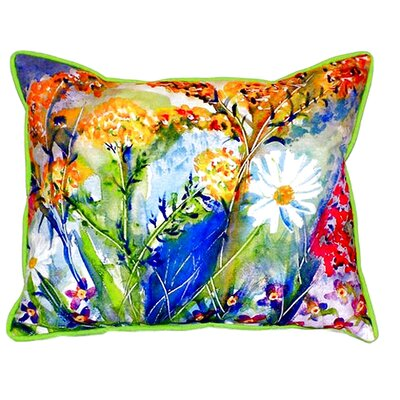 Wild Flower Indoor/Outdoor Lumbar Pillow
