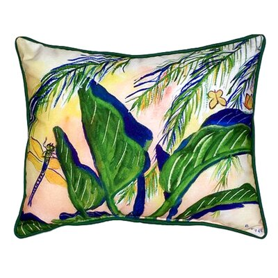 Elephant Ears Indoor/Outdoor Lumbar Pillow Size: Small