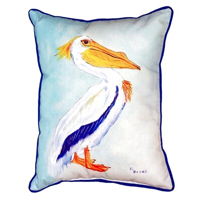 King Pelican Indoor/Outdoor Lumbar Pillow